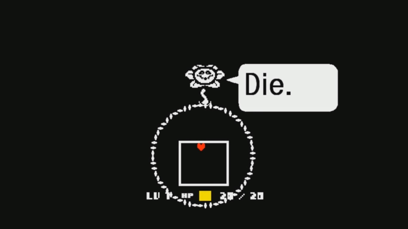 flowey DIE